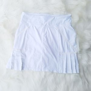 Athleta Skort Tennis Skirt Golf Skirt Pleated, Siz